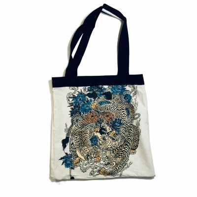 YAMA Reversible Totebag Small by Kinnohasu