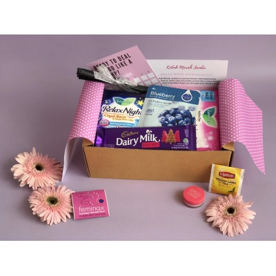 Period Surprise Box by Kotak Merah Jambu